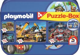 Playmobil Puzzle-Box - im Metallkoffer.